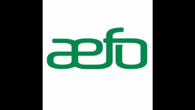 Association des enseignants/es franco-ontariens (AEFO) logo