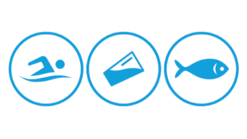 Swim Drink Fish logo